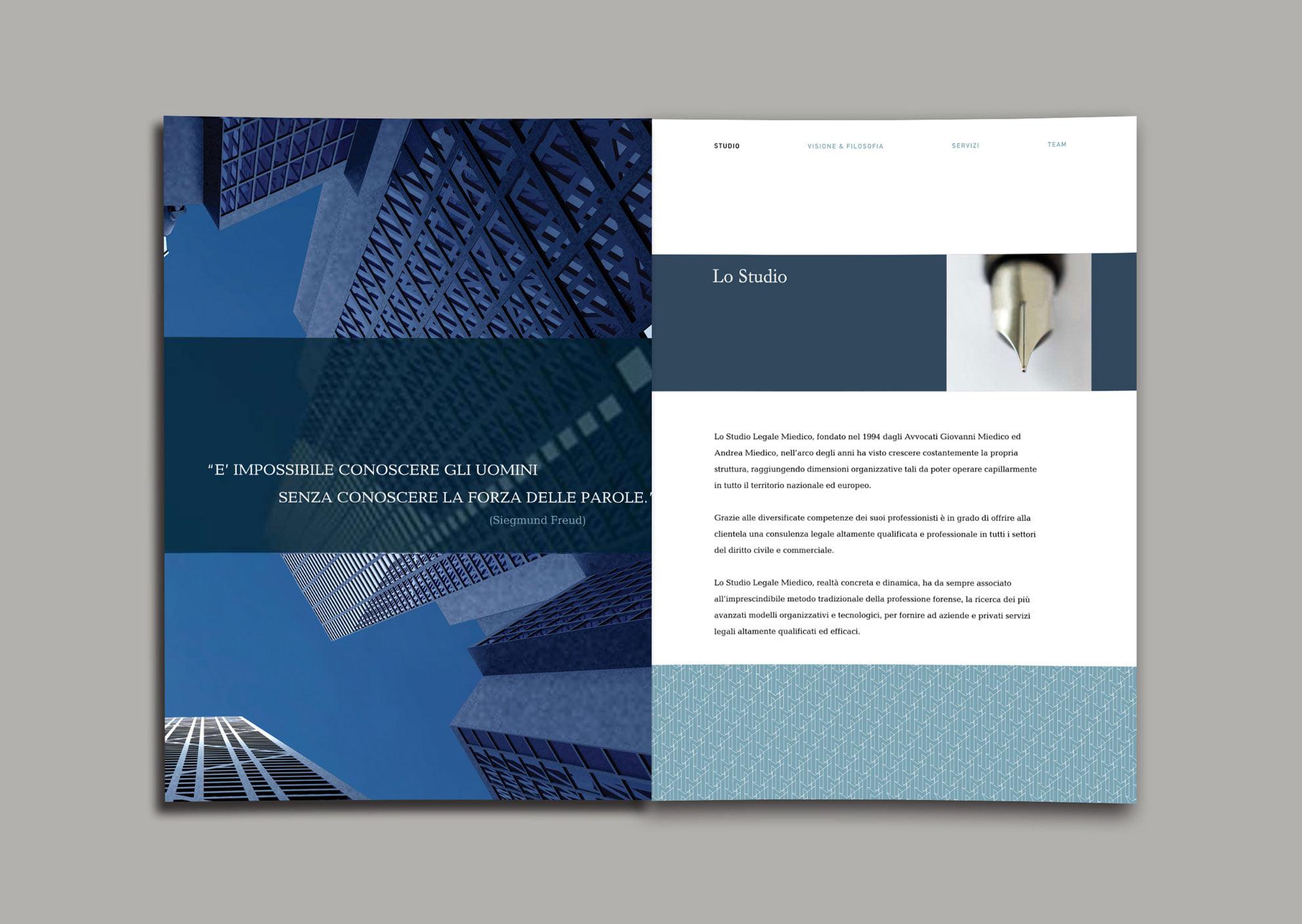 Client: Studio Legale Agency: Gramma Comunicazione Category: Branding /  Print